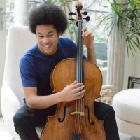 Sheku Kanneh-Mason, Cellist in recital presented by Harriman-Jewell Series at The Folly Theater, Kansas City MO