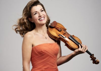 Anne-Sophie Mutter, Violinist, in a Beethoven Celebration presented by Harriman-Jewell Series at The Folly Theater, Kansas City MO