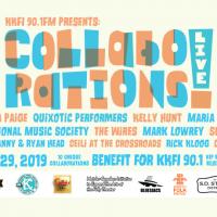 KKFI Collaborations Live! 2019 presented by KKFI 90.1 FM at The Folly Theater, Kansas City MO