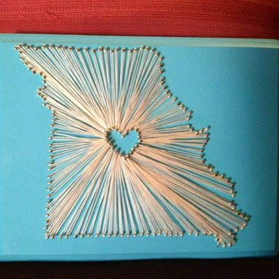 Missouri String Art Class presented by New Element at New Element, Kansas City MO