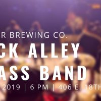 Back Alley Brass at Border Brewing Company for First Fridays presented by Back Alley Brass Band at ,