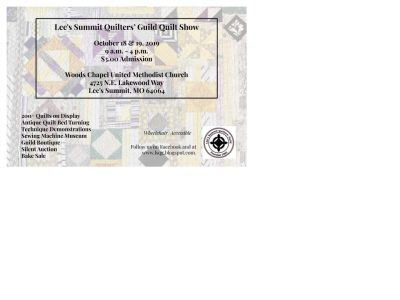 Lee's Summit Quilters Guild Show presented by Lee's Summit Quilters Guild Show at ,