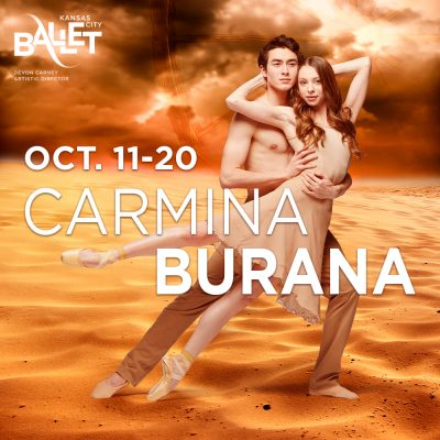 "Kansas City Ballet Presents ""Carmina Burana"" presented by Kansas City Ballet at Kauffman Center for the Performing Arts, Kansas City MO"