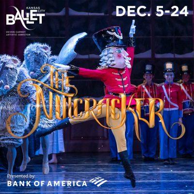 "Kansas City Ballet Presents ""The Nutcracker"" presented by Kansas City Ballet at Kauffman Center for the Performing Arts, Kansas City MO"