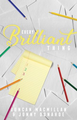 Every Brilliant Thing at Spinning Tree Theatre presented by Spinning Tree Theatre at Johnson County Arts & Heritage Center, Overland Park KS