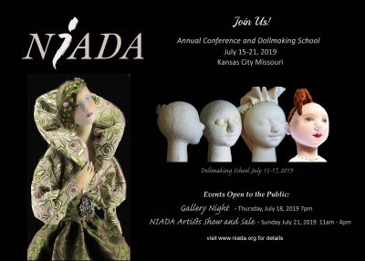 National Institute of American Doll Artists (NIADA) 2019 Annual Conference & Dollmaking School presented by National Institute of American Doll Artists (NIADA) 2019 Annual Conference & Dollmaking School at ,