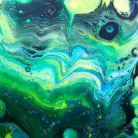 Acrylic Paint Pour