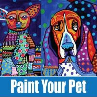 Abstract Paint Your Pet