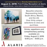 Alaris First Friday Reception presented by Sylvia Augustus at ,