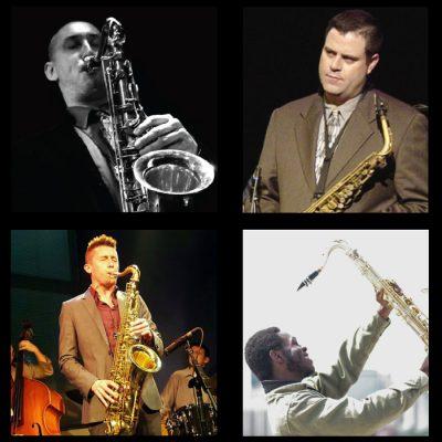 Saxophone Summit: Matt Otto, David Valdez, Steve Lambert, and Ernest Melton presented by American Jazz Museum at The Blue Room, Kansas City MO