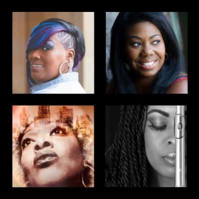 KC Divas! Charlotte Fletcher, Eboni Fondren, J Love, and Amber Underwood