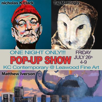 KC Contemporary Pop-Up Show-ONE NIGHT ONLY!