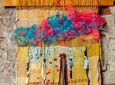 """""""Inside Out"""" – Weavings and Wall Hangings by Susan Ferguson presented by Home at ,"""