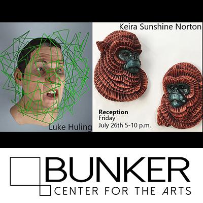 Artists' Reception: Luke Huling and Keira Sunshine...