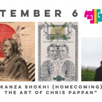 "Travois First Fridays: ""Kanza Shokhi (Homecoming): The Art of Chris Pappan"" by Chris Pappan"