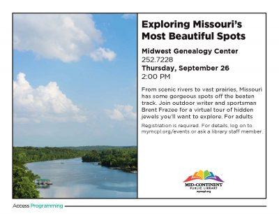 Exploring Missouri's Most Beautiful Spots presented by Exploring Missouri's Most Beautiful Spots at ,