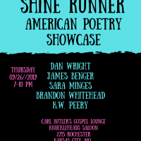 Shine Runner American Poetry Showcase presented by Knuckleheads Saloon at Knuckleheads Saloon, Kansas City MO