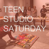 Teen Studio Saturday presented by Kemper Museum of Contemporary Art at Kemper Museum of Contemporary Art, Kansas City MO