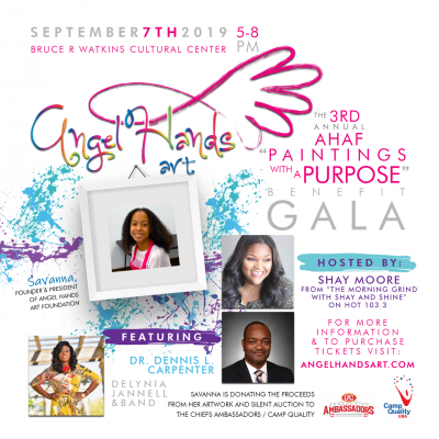 3rd Annual Angel Hands Art Foundation Paintings wi...