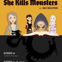 """Rockhurst Theater: """"She Kills Monsters"""" presented by Rockhurst University at ,"""