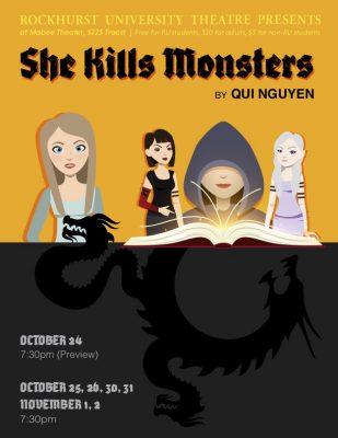 """Rockhurst Theater: """"She Kills Monsters"""""""