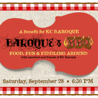 BAROQUE & BBQ with KC Baroque presented by Kansas City Baroque Consortium at ,
