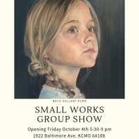 Small works Group Show presented by Katie Carruthers at ,