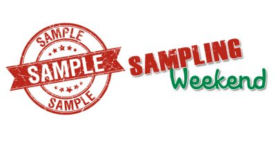 Sampling Weekend