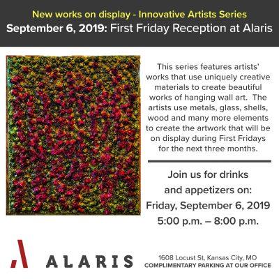 Alaris September First Friday Reception presented by Alaris September First Friday Reception at ,