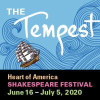 The Tempest presented by Heart of America Shakespeare Festival at ,