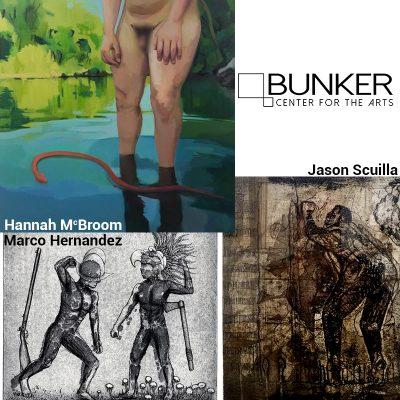 September Exhibitions at Bunker Center for the Art...