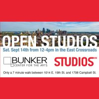 Art Crawl and Open Studios in the East Crossroads presented by Bunker Center for the Arts at Bunker Center for the Arts, Kansas City MO