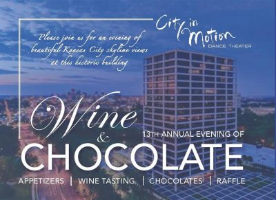 An Evening of Wine & Chocolates presented by City in Motion Dance Theater at ,