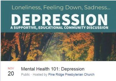 Depression: A Community Discussion presented by Signature Psychiatric Hospital at ,