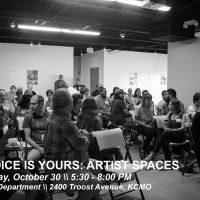 The Voice Is Yours: Artist Spaces presented by Charlotte Street Foundation at Capsule, Kansas City MO