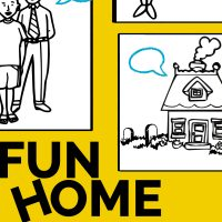Fun Home presented by Kansas City Repertory Theatre at Spencer Theater, Kansas City MO