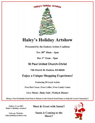 Haley's Holiday Artshow presented by The 9th Annual Holiday Swing at ,