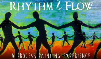 Rhythm & Flow: A Process Painting Experience presented by Jenny Hahn Studio at The Bauer Building, Kansas City MO