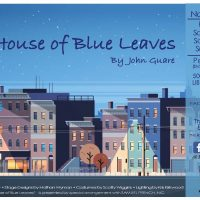 The House of Blue Leaves by John Guare presented by Jewell Theatre Company at Peters Theater, William Jewell College, Liberty MO