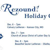 Rezound! Handbell Ensemble Holiday Concert presented by Rezound! Handbell Ensemble at ,