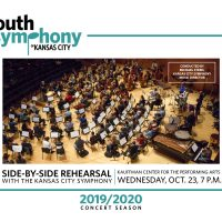 Youth Symphony and Kansas City Symphony: Side-by-Side Rehearsal presented by Youth Symphony of Kansas City at Kauffman Center for the Performing Arts, Kansas City MO