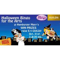 Halloween Bingo for the Arts presented by GUILDit at Hamburger Mary's, Kansas City MO