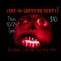 Adult Jack-o-lantern Carving/Painting Party! presented by Bunker Center for the Arts at Bunker Center for the Arts, Kansas City MO