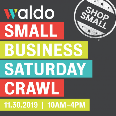 Waldo Small Business Saturday Crawl presented by The 9th Annual Holiday Swing at ,