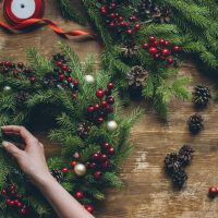 Holiday Home Decor: Wreath Making presented by Powell Gardens at ,