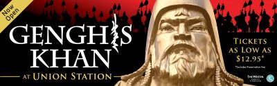Genghis Khan: Bringing the Legend to Life presented by Union Station Kansas City at Union Station Kansas City, Kansas City MO