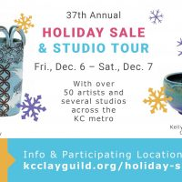 KC Clay Guild Holiday Sale and Tour presented by KC Clay Guild at KC Clay Guild, Kansas City MO