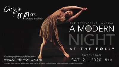 A Modern Night at the Folly presented by City in Motion Dance Theater at The Folly Theater, Kansas City MO