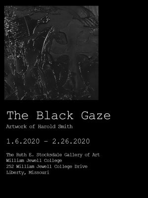 The Black Gaze – Artwork by Harold Smith presented by Home at ,