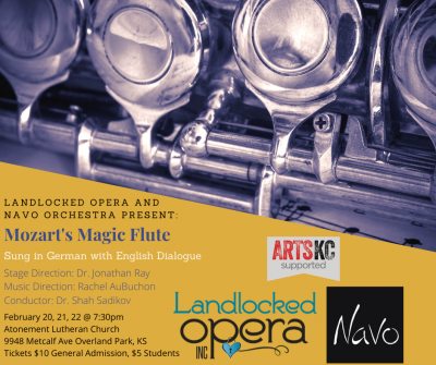 Landlocked Opera and Navo Present: The Magic Flute presented by Landlocked Opera Inc. at ,